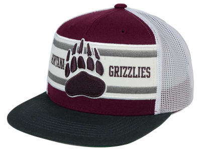 Montana Grizzlies Top of the World NCAA Superstripe Snapback Cap