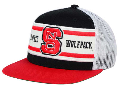North Carolina State Wolfpack Top of the World NCAA Superstripe Snapback Cap