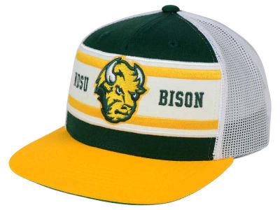 North Dakota State Bison Top of the World NCAA Superstripe Snapback Cap