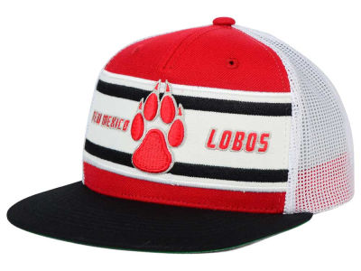 New Mexico Lobos Top of the World NCAA Superstripe Snapback Cap