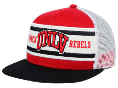 UNLV Runnin Rebels Top of the World NCAA Superstripe Snapback Cap