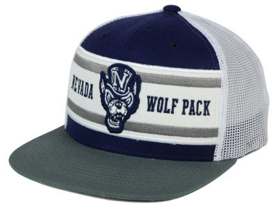 Nevada Wolf Pack Top of the World NCAA Superstripe Snapback Cap