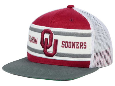 Oklahoma Sooners Top of the World NCAA Superstripe Snapback Cap