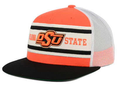 Oklahoma State Cowboys Top of the World NCAA Superstripe Snapback Cap