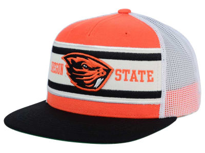 Oregon State Beavers Top of the World NCAA Superstripe Snapback Cap
