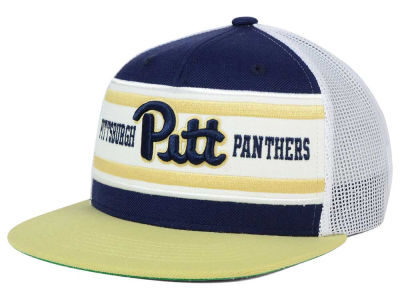 Pittsburgh Panthers Top of the World NCAA Superstripe Snapback Cap