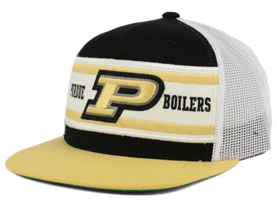 Purdue Boilermakers Top of the World NCAA Superstripe Snapback Cap