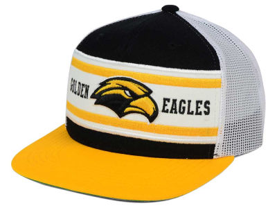 Southern Mississippi Golden Eagles Top of the World NCAA Superstripe Snapback Cap