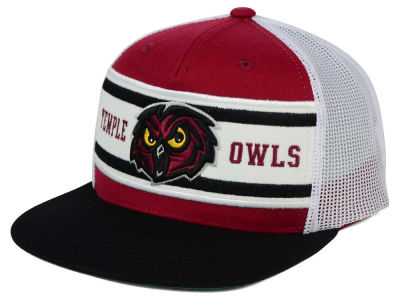 Temple Owls Top of the World NCAA Superstripe Snapback Cap