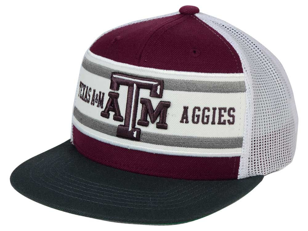 c80d2c18070 Texas A M Aggies Top of the World NCAA Superstripe Snapback Cap ...