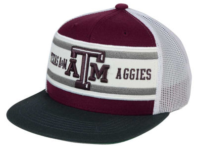 Texas A&M Aggies Top of the World NCAA Superstripe Snapback Cap