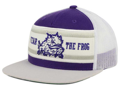 Texas Christian Horned Frogs Top of the World NCAA Superstripe Snapback Cap