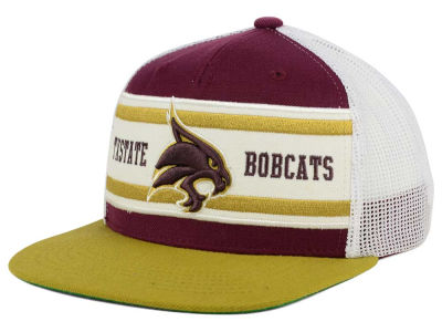 Texas State Bobcats Top of the World NCAA Superstripe Snapback Cap