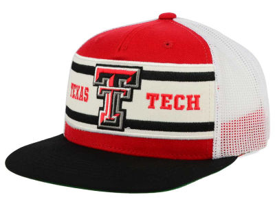 Texas Tech Red Raiders Top of the World NCAA Superstripe Snapback Cap