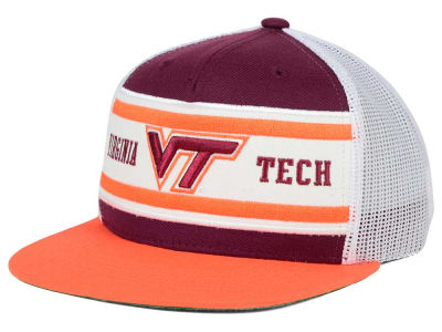 Virginia Tech Hokies Top of the World NCAA Superstripe Snapback Cap