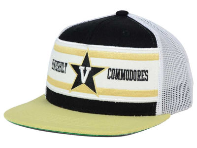 Vanderbilt Commodores Top of the World NCAA Superstripe Snapback Cap
