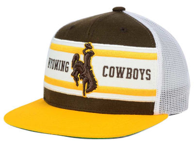 Wyoming Cowboys Top of the World NCAA Superstripe Snapback Cap