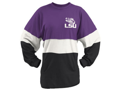 LSU Tigers NCAA Women's Colorblock Tri Sweeper