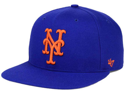 New York Mets '47 MLB Sure Shot '47 Snapback Cap