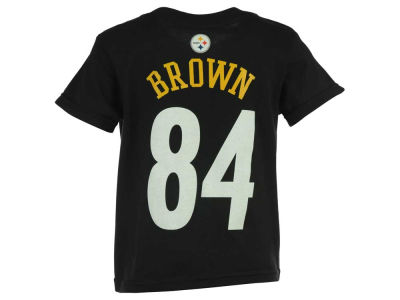 Pittsburgh Steelers Antonio Brown NFL Kids Mainliner Player T-Shirt