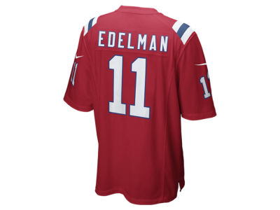 New England Patriots Julian Edelman Nike NFL Men's Game Jersey