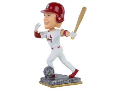 St. Louis Cardinals Matt Holliday Springy Logo Bobble