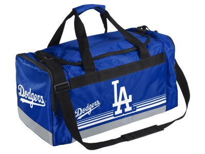 Los Angeles Dodgers Striped Core Duffle Bag