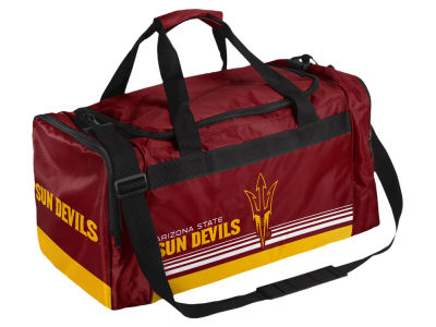 Arizona State Sun Devils Striped Core Duffle Bag