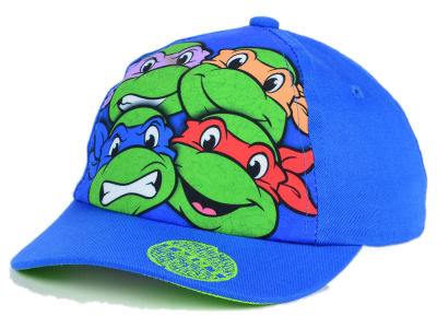 Teenage Mutant Ninja Turtles Child Sewer 4 Faces Snapback Hat