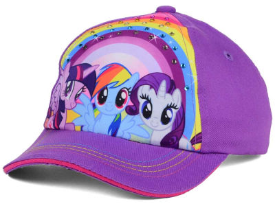 My Little Pony Rhinestone Rainbow Child Adjustable Cap
