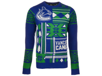 Vancouver Canucks Reebok NHL Youth Ugly Sweater