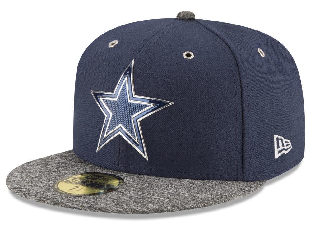 Dallas Cowboys New Era 2016 NFL Draft On Stage 59FIFTY Cap  c77a2f9cb39