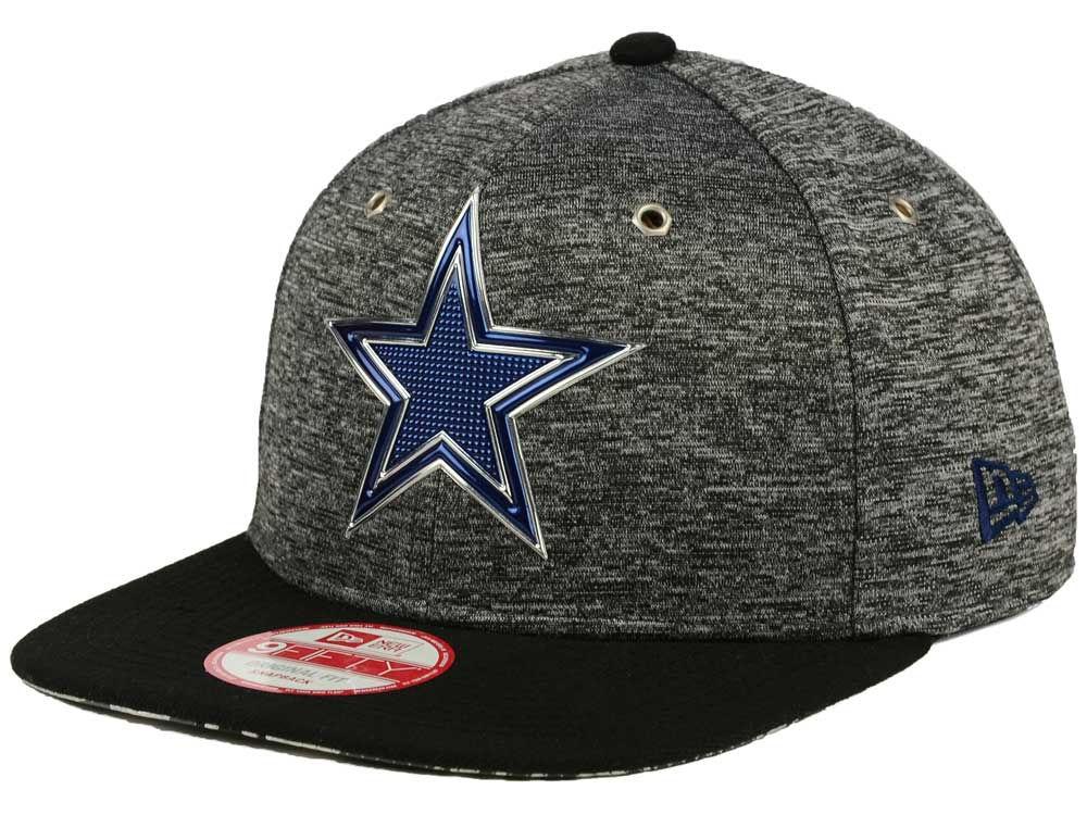 Dallas Cowboys New Era 2016 NFL Draft 9FIFTY Black Original Fit Snapback  Cap  2e831a9c37d