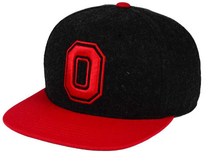 Ohio State Buckeyes J America NCAA Power Heather Snapback Hat
