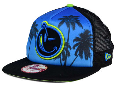 YUMS South Beach Palm 2.0 Trucker 9FIFTY Snapback Cap