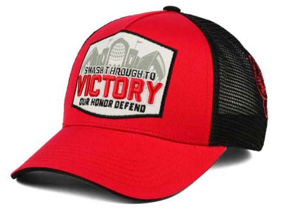 Ohio State Buckeyes J America NCAA Stadium Victory Patch Adjustable Hat