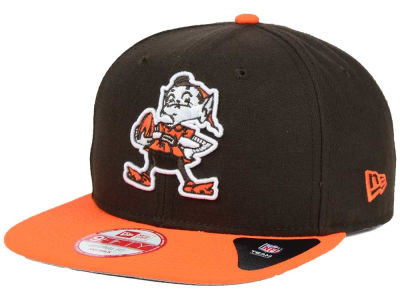 Cleveland Browns New Era NFL Historic Baycik 9FIFTY Snapback Cap