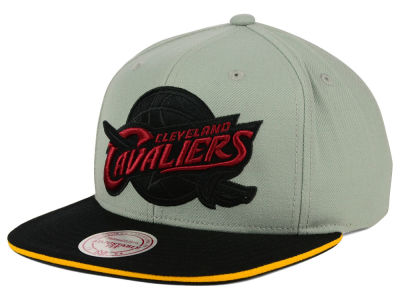 Cleveland Cavaliers Mitchell and Ness NBA XL Grayout Snapback Cap