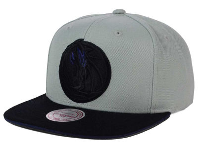 Dallas Mavericks Mitchell and Ness NBA XL Grayout Snapback Cap