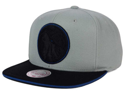 Minnesota Timberwolves Mitchell and Ness NBA XL Grayout Snapback Cap