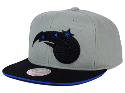 Orlando Magic Mitchell and Ness NBA XL Grayout Snapback Cap