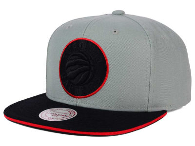 Toronto Raptors Mitchell and Ness NBA XL Grayout Snapback Cap