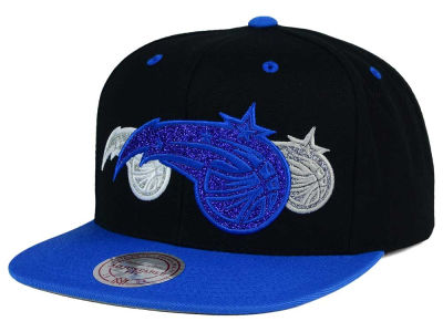 Orlando Magic Mitchell and Ness NBA Triple Stack Metallic Snapback Cap