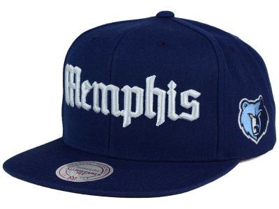 Memphis Grizzlies Mitchell and Ness NBA Gothic City Snapback Cap