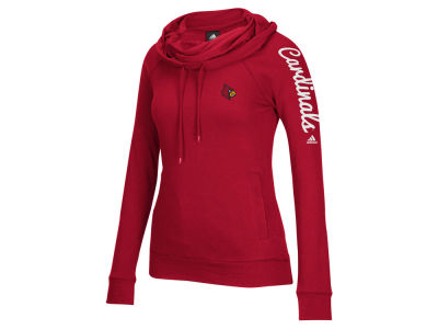 Louisville Cardinals adidas NCAA Women's Tunnel Neck Pullover Hoodie