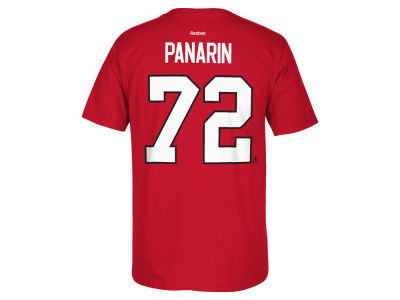 Chicago Blackhawks Artemi Panarin  Reebok NHL Men's Player T-Shirt