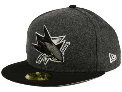 San Jose Sharks New Era NHL Shader Melt 59FIFTY Cap