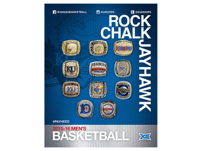 Kansas Jayhawks NCAA 2015-2016 Media Guide
