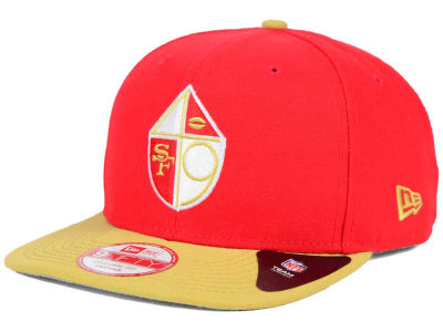 San Francisco 49ers New Era NFL Historic Baycik 9FIFTY Snapback Cap