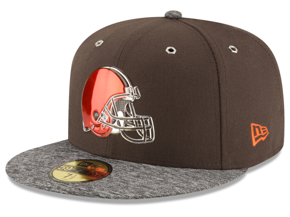 Cleveland Browns New Era 2016 NFL Draft On Stage 59FIFTY Cap  006733f64
